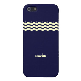 Caso submarino del iPhone de la marina de guerra iPhone 5 Carcasa