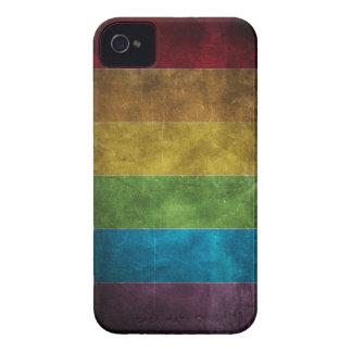 Caso sucio del iPhone 4 del arco iris iPhone 4 Case-Mate Funda
