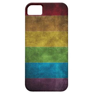 Caso sucio del iPhone 5 del arco iris iPhone 5 Fundas