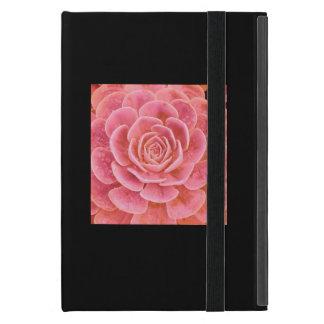 Caso suculento rosado iPad mini cobertura