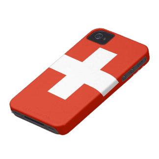 Caso suizo del iPhone 4 de la bandera Case-Mate iPhone 4 Coberturas