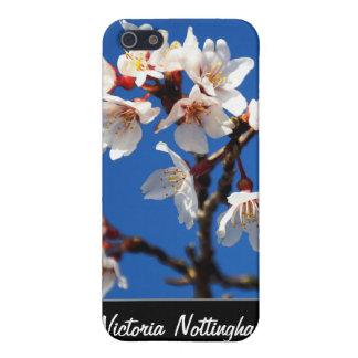 Caso supremo del iPhone 4 de la mota de las flores iPhone 5 Funda