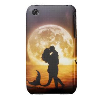 Caso tácito/cubierta de Iphone 3g de la sirena iPhone 3 Case-Mate Coberturas