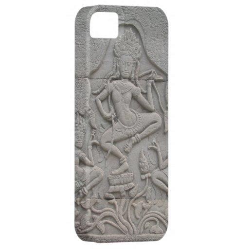 Caso tallado piedra del iPhone iPhone 5 Funda
