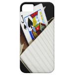 caso, tarjetas, cubierta, iphone, caja, diseño, en iPhone 5 Case-Mate fundas