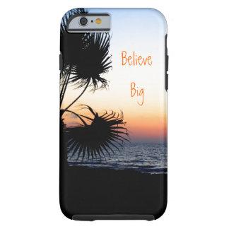 Caso temático del iPhone 6 de la playa Funda De iPhone 6 Tough