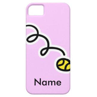 Caso temático del iphone del tenis con su nombre iPhone 5 carcasas