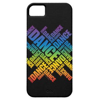 Caso tipográfico del iPhone 5 de la danza espectr iPhone 5 Case-Mate Protectores