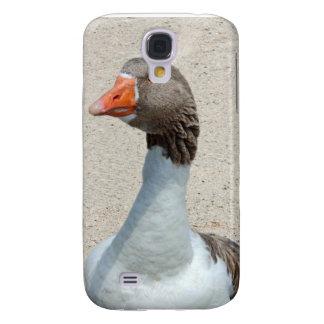 Caso tonto del iPhone del ganso Funda Para Galaxy S4