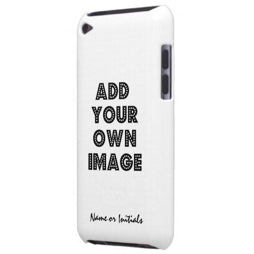 Caso totalmente de encargo barely there iPod fundas