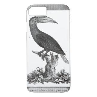 Caso toucan de la aguafuerte del pájaro del funda iPhone 7