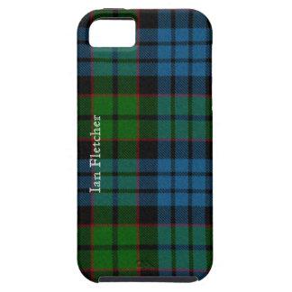 Caso tradicional del iPhone 5 de la tela escocesa  iPhone 5 Case-Mate Protector
