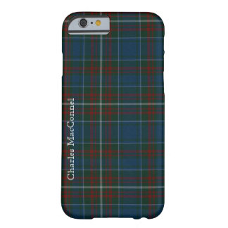 Caso tradicional del iPhone 6 de la tela escocesa Funda Para iPhone 6 Barely There