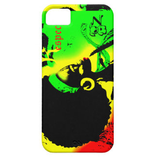 Caso travieso de Iphone 5/5S del respecto de la Funda Para iPhone 5 Barely There