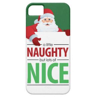 Caso travieso y Niza de Papá Noel del iPhone 5 iPhone 5 Funda