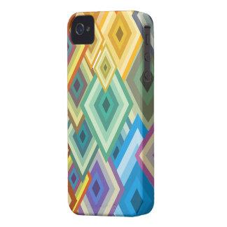 Caso triangular abstracto del iPhone 4 iPhone 4 Case-Mate Coberturas