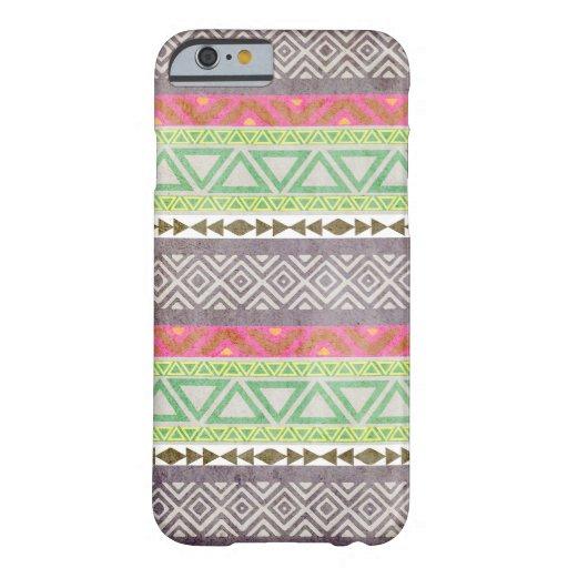 Caso tribal azteca del iPhone 6 del modelo 1 del Funda De iPhone 6 Slim