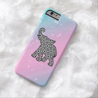 Caso tribal de moda del iPhone 6 del elefante Funda De iPhone 6 Barely There