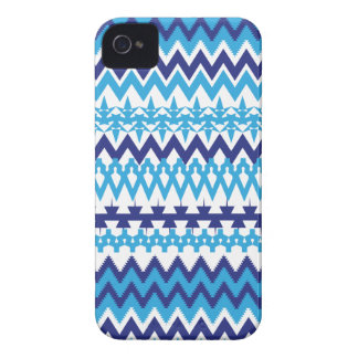Caso tribal del iPhone 4 del modelo de las azules iPhone 4 Carcasas