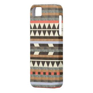 Caso tribal del iPhone 5/5s del tono de la tierra Funda Para iPhone SE/5/5s