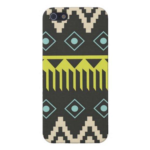 Caso tribal del iPhone 5 de la impresión iPhone 5 Carcasa