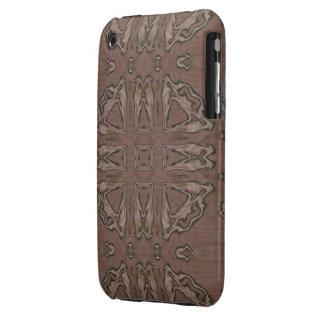 Caso tribal elegante de la mirada del satén del funda para iPhone 3 de Case-Mate