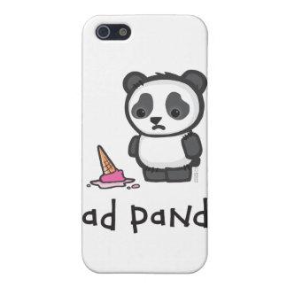 Caso triste del iPhone 4/4S de la panda iPhone 5 Cárcasas