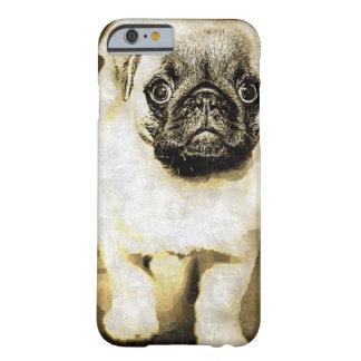 Caso triste del perrito del barro amasado funda de iPhone 6 barely there