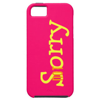 Caso triste Triste-No del iPhone 5/5S iPhone 5 Cárcasas