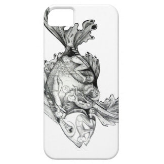 Caso Trojan del iPhone de los pescados iPhone 5 Case-Mate Carcasas