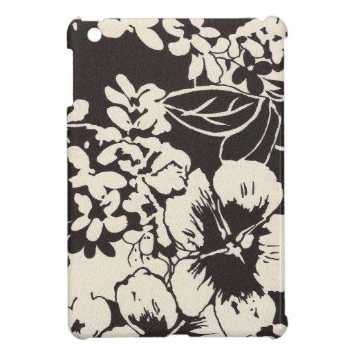 Caso tropical del iPad de 311 flores del vintage iPad Mini Fundas