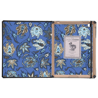 Caso tropical del iPad de DODOcase del batik del