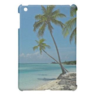 Caso tropical del iPad de la playa