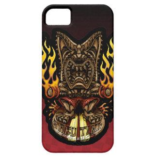 Caso tropical del iPhone 5 de dios del fuego de Ti iPhone 5 Case-Mate Funda
