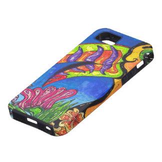 Caso tropical del iPhone 5 de Toucan Funda Para iPhone SE/5/5s