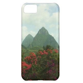 Caso tropical del iPhone 5 del paraíso