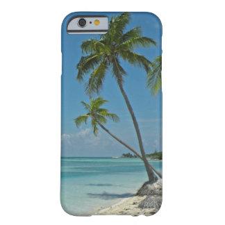 Caso tropical del iPhone 6 de la playa Funda De iPhone 6 Barely There