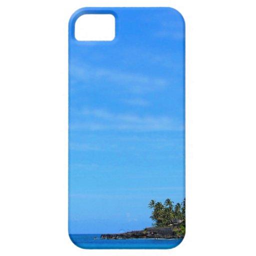 Caso tropical del iphone de la isla iPhone 5 Case-Mate carcasa