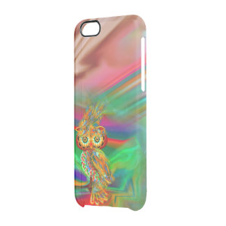 Caso tropical del iPhone del búho de la reina de Funda Clearly™ Deflector Para iPhone 6 De Uncommon
