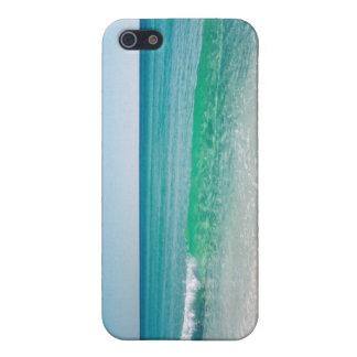 Caso tropical del iPhone del paraíso iPhone 5 Protectores