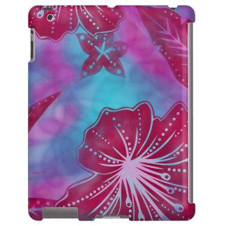 Caso tropical hawaiano del iPad del batik de la Funda Para iPad