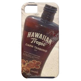 Caso tropical hawaiano del iPhone 5 del aceite que iPhone 5 Carcasas