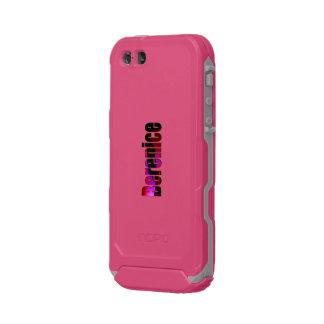 Caso ultra rugoso rosado del iPhone de Berenice Funda Para iPhone 5 Incipio ATLAS ID