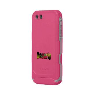 Caso ultra rugoso rosado del iPhone de Beverly Funda Para iPhone 5 Incipio ATLAS ID