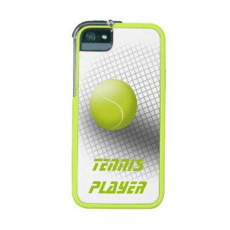 Caso único del iPhone 5s del verde de la bola del