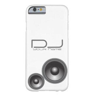 Caso único del iPhone 6 de DJ Funda De iPhone 6 Barely There