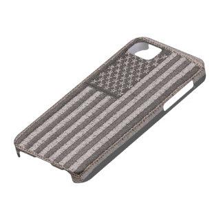 Caso uniforme del iPhone 5S de la bandera de los iPhone 5 Funda