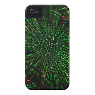Caso universal de Barely There del iPhone verde 4