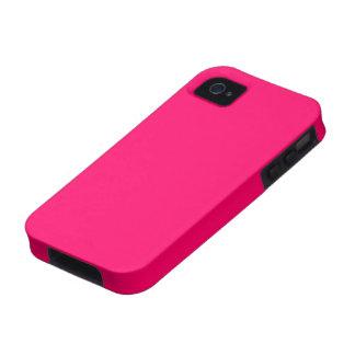Caso universal del ambiente color de rosa del iPhone 4 fundas