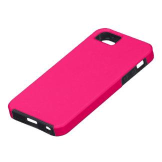 Caso universal del ambiente color de rosa del iPhone 5 carcasa